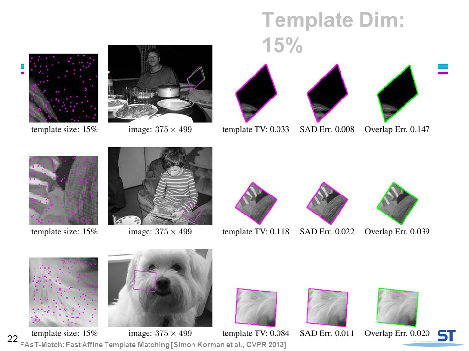 FAsT-Match: Fast Affine Template Matching - ppt video online download